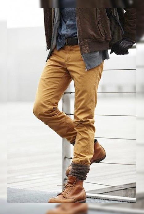 Bien connu Chaussettes à motifs + Boots = Cocoon Style ! – Mode masculine SX62