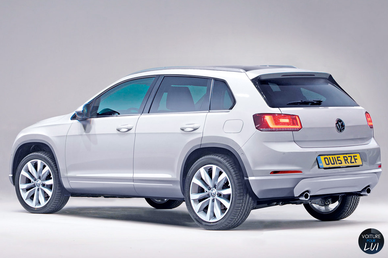 nouveau volkswagen tiguan sortie prevue en 2015 ou 2016 autos weblog. Black Bedroom Furniture Sets. Home Design Ideas