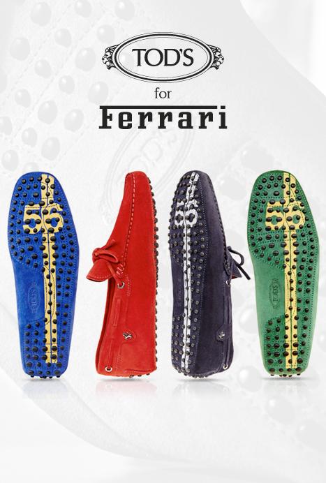 chaussures de sport 74e7a 3581a TOD'S et Ferrari font la paire – Mode masculine