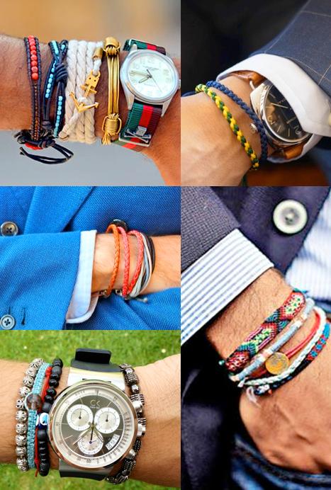 mode homme bracelet