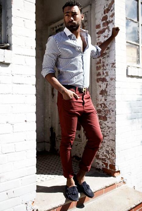 Tendance mode homme pantalon - Pantalon marron homme avec quoi ...