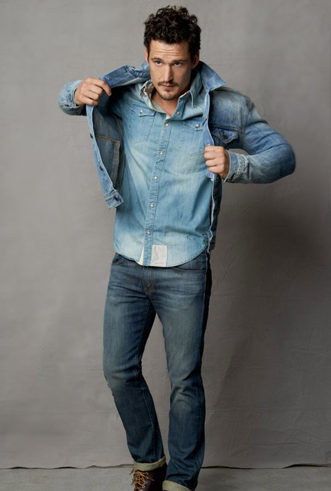 Tendance 39 denim on denim 39 pour homme mode masculine - Jean a la mode homme ...