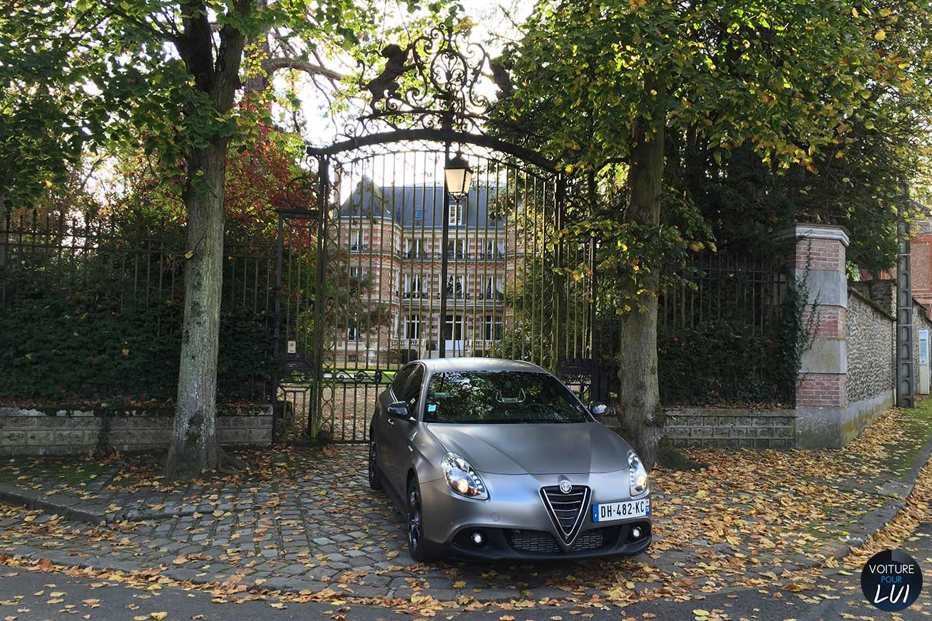 Alfa Romeo Giulietta Quadrifoglio Verde 2015