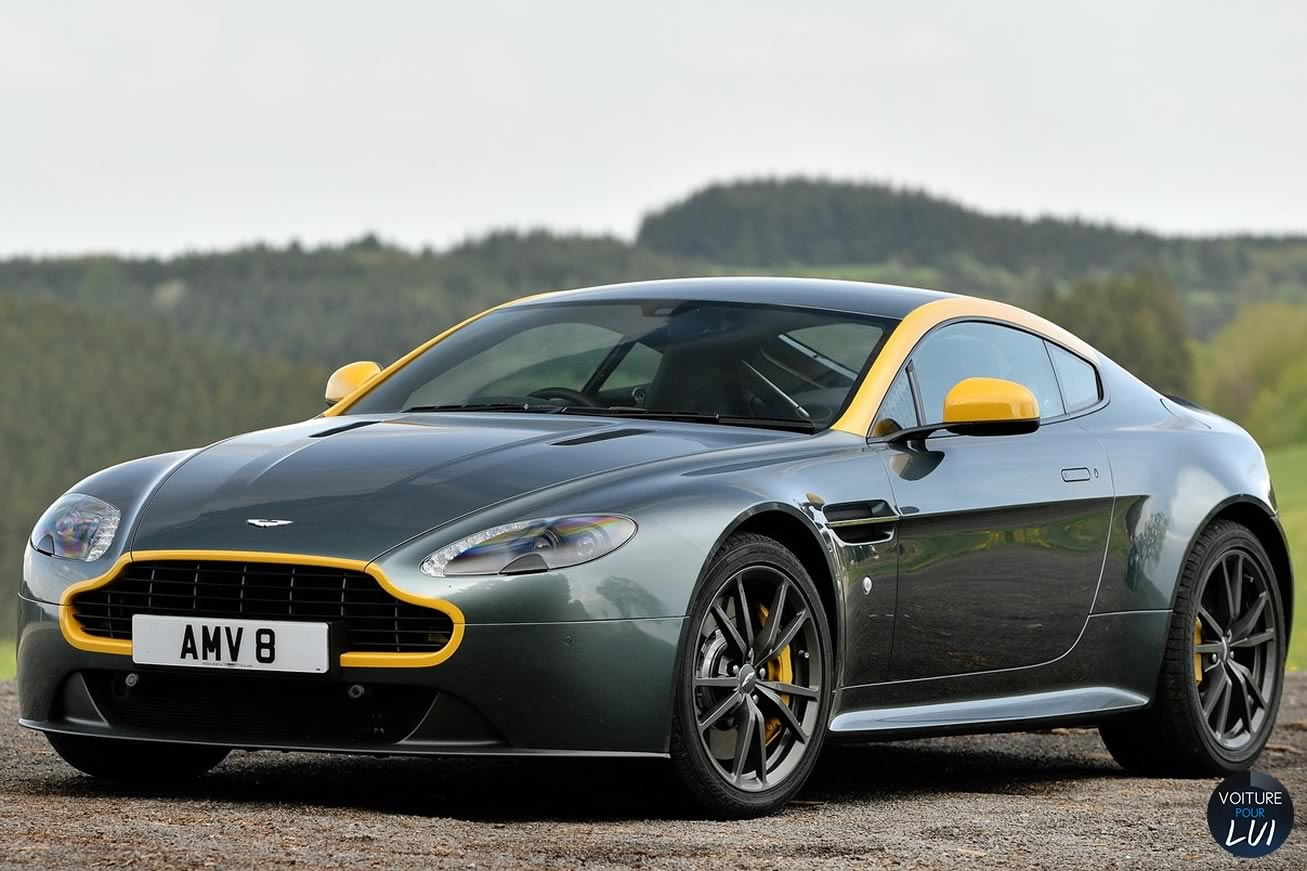 photo aston martin vantage n430 v8 2015 2015. Black Bedroom Furniture Sets. Home Design Ideas