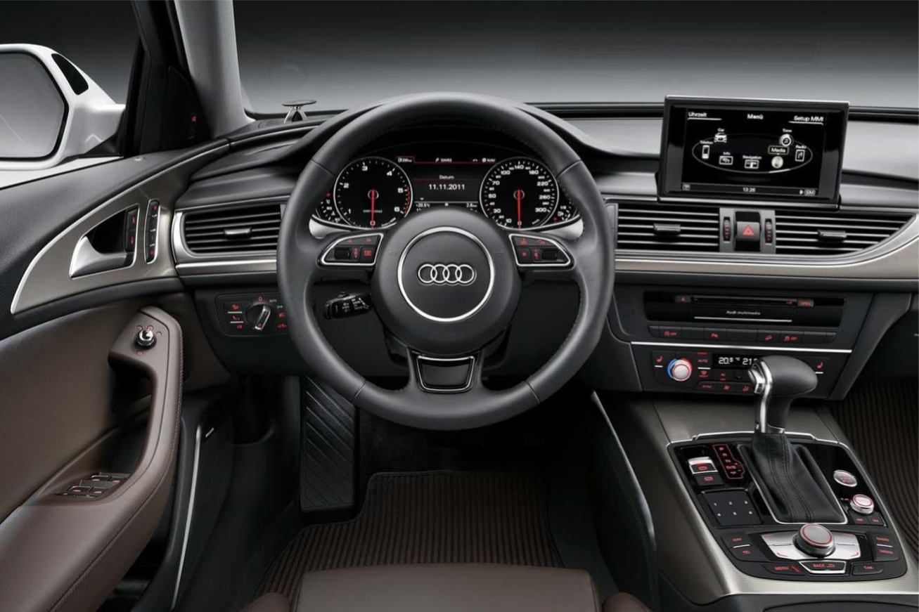 Photos audi a6 allroad quattro 2012 numero 21 for Interieur audi a6
