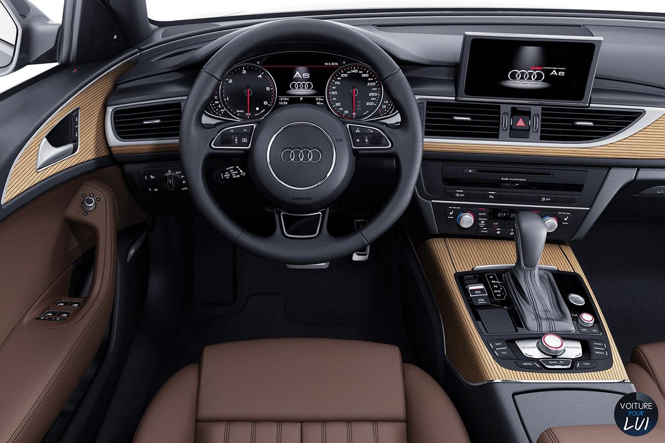 A6 avant 2015 break for Audi a6 avant interieur