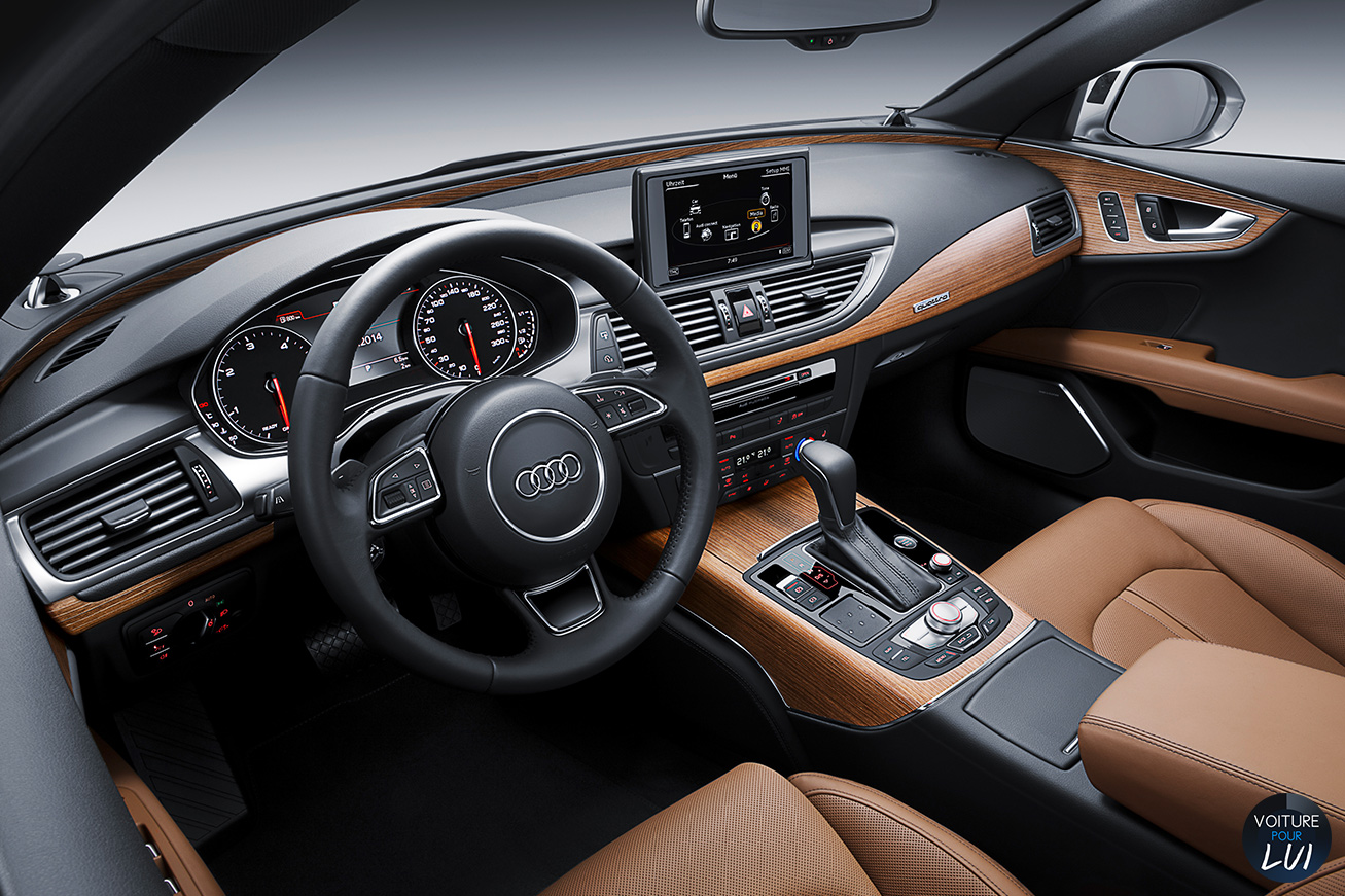 Audi  A7 SPORTBACK TDI ULTRA    http://www.voiturepourlui.com/images/Audi//Interieur/Audi_A7_Sportback_TDI_Ultra_002.jpg