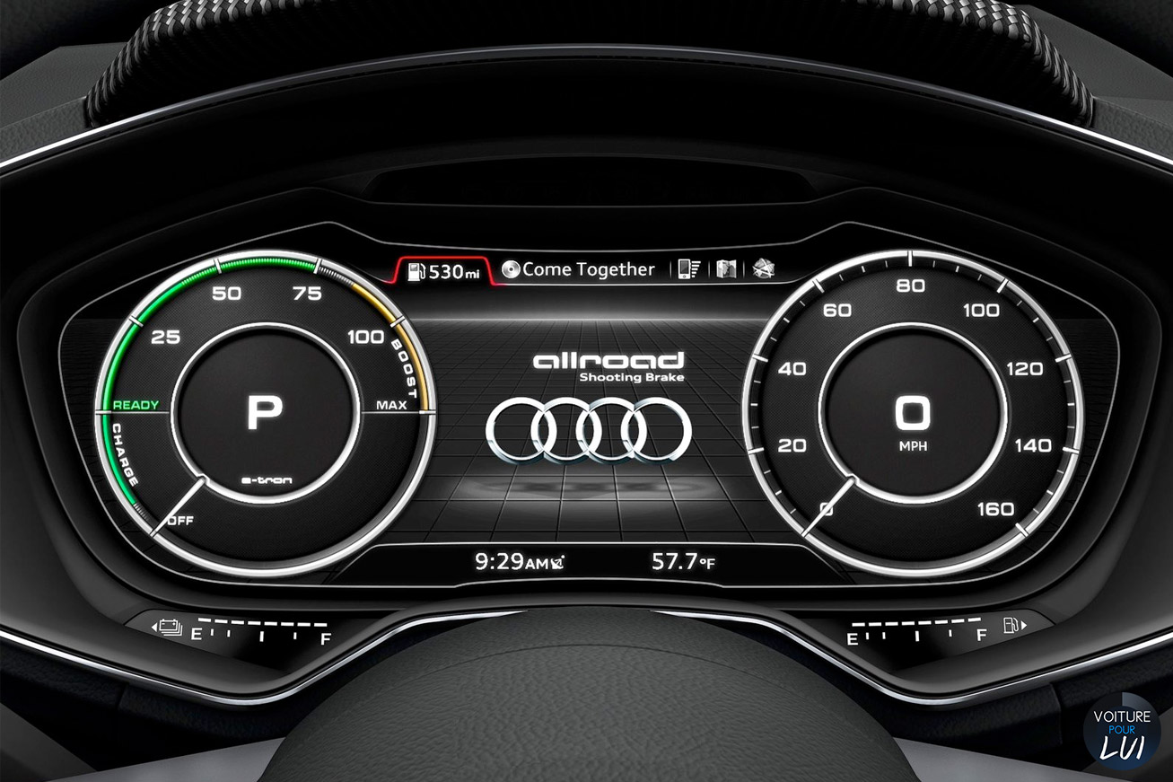 Audi Allroad Shooting Brake Concept 2014