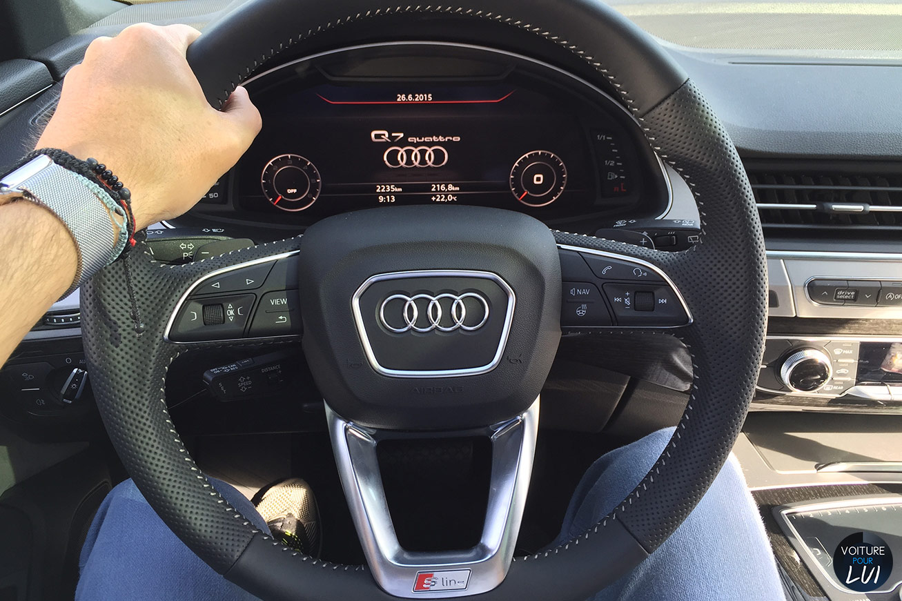 Photos audi q7 2015 2015 numero 23 for Interieur q7
