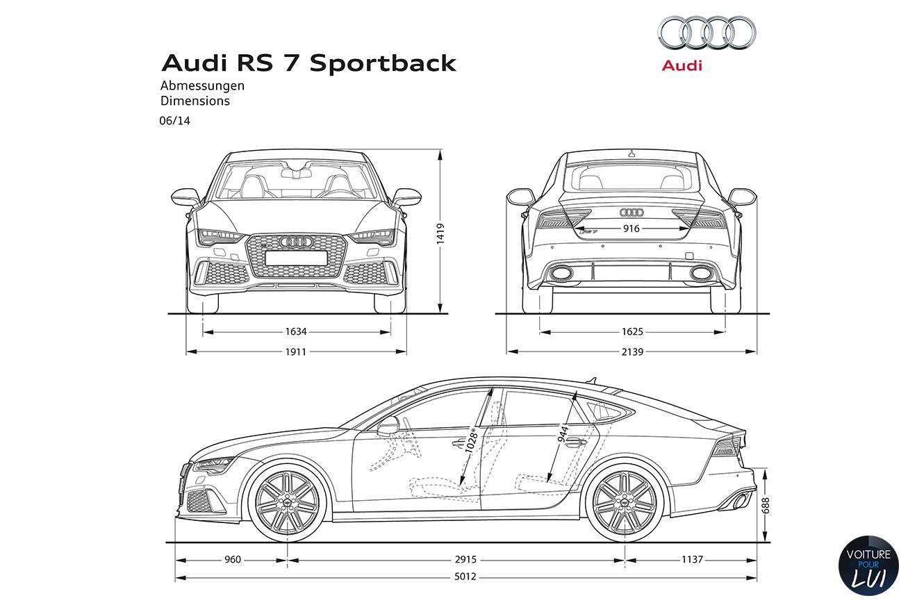 Audi rs7 engine capacity