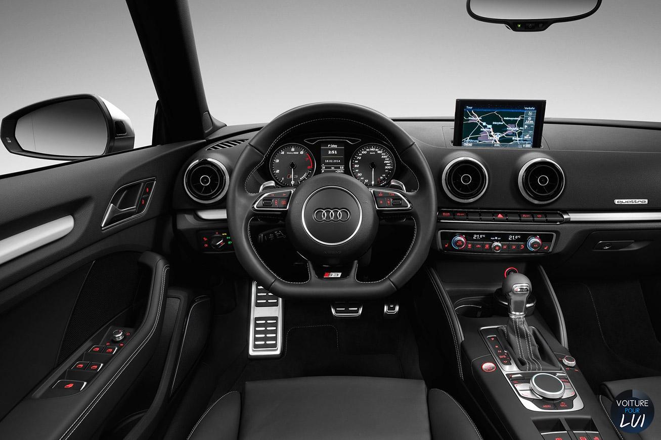 Photos audi s3 cabriolet 2015 numero 11 for Interieur audi s3 2000