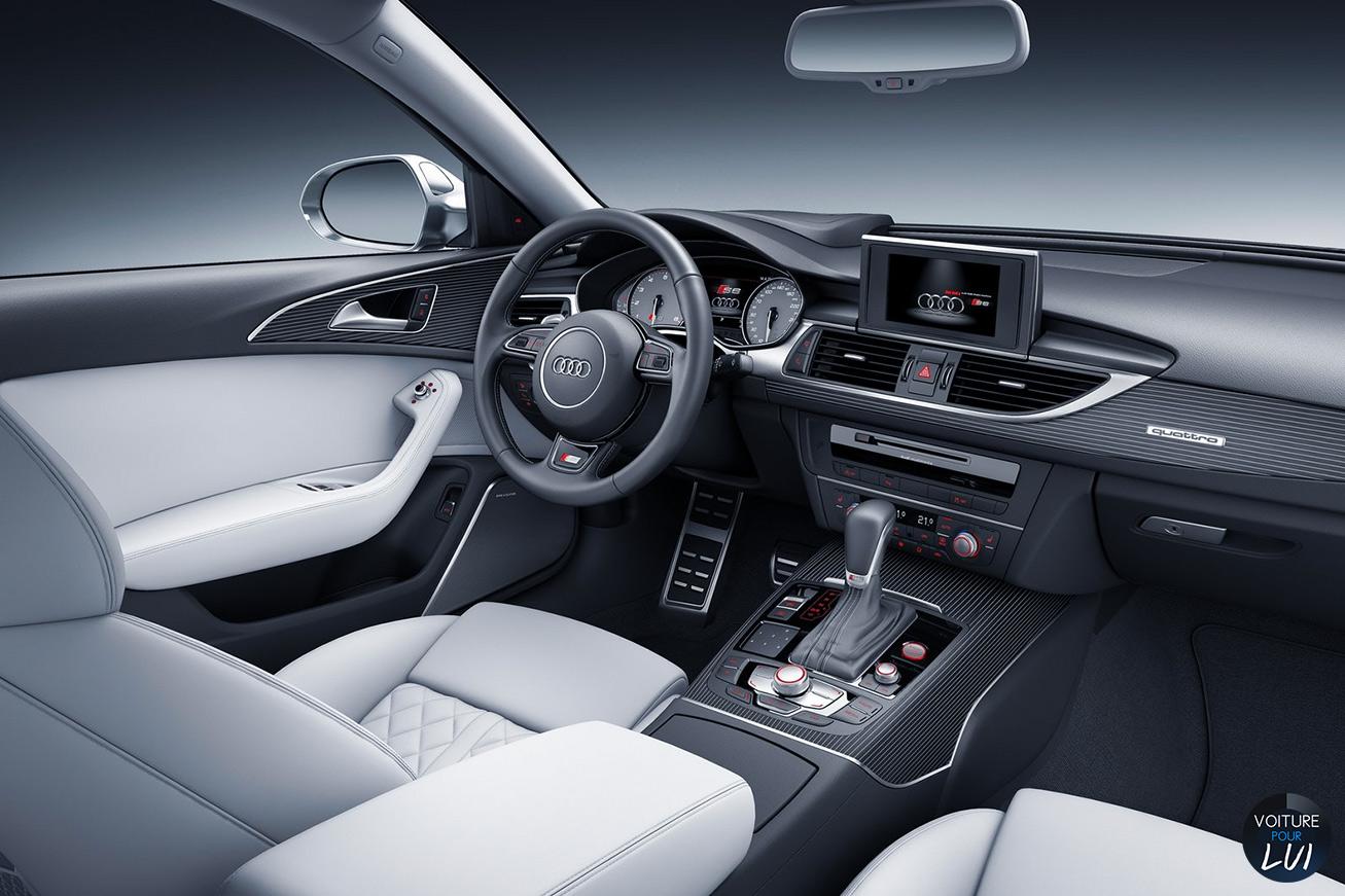 Audi s6 avant 2015 2015 voiture pour lui for Interieur voiture