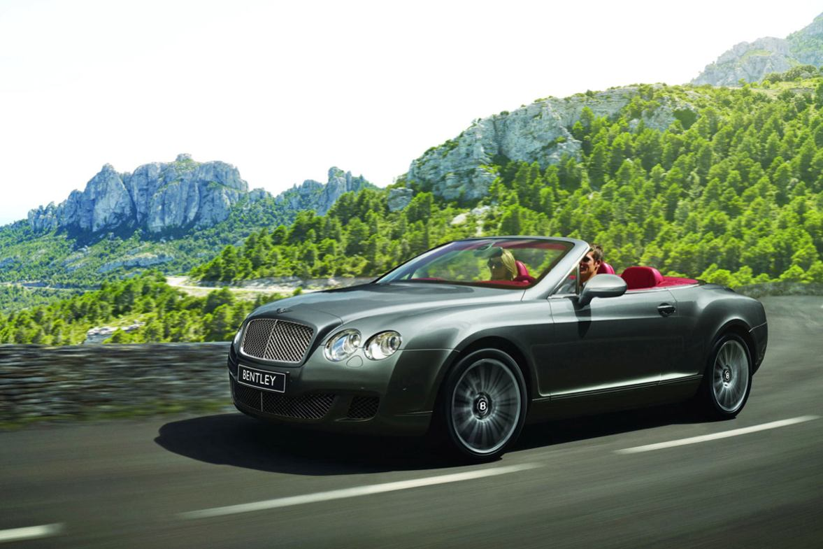 Les nouvelles photos de : Continental-GTC-Speed-2009