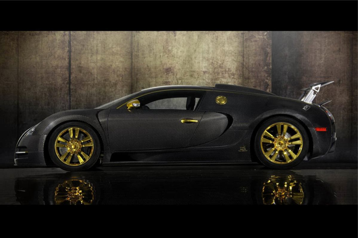 photo bugatti veyron linea vincero oro 2011. Black Bedroom Furniture Sets. Home Design Ideas