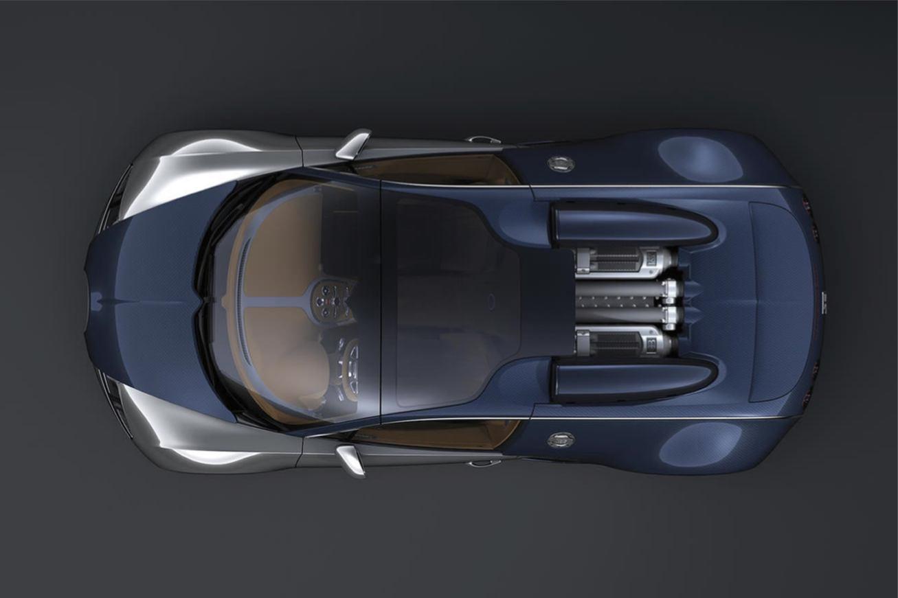 Bugatti Veyron Sang Bleu