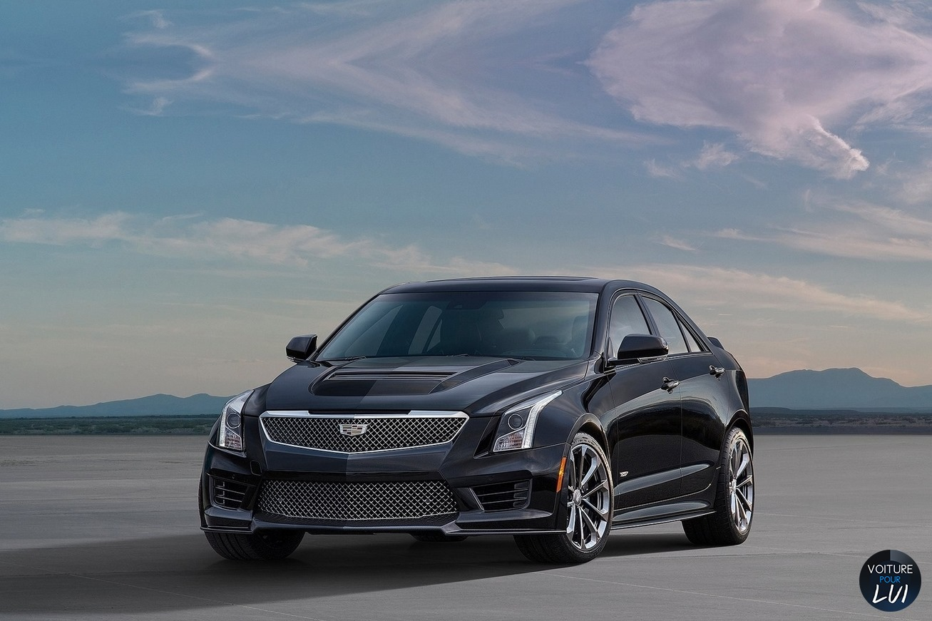 Nouvelle photo :Cadillac ATS-V-Berline-2016
