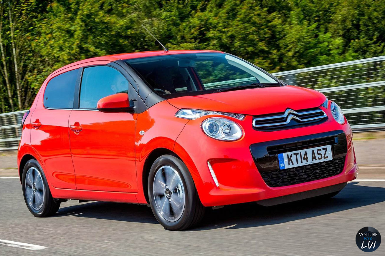 Photo Citroen C1 2015 Rouge