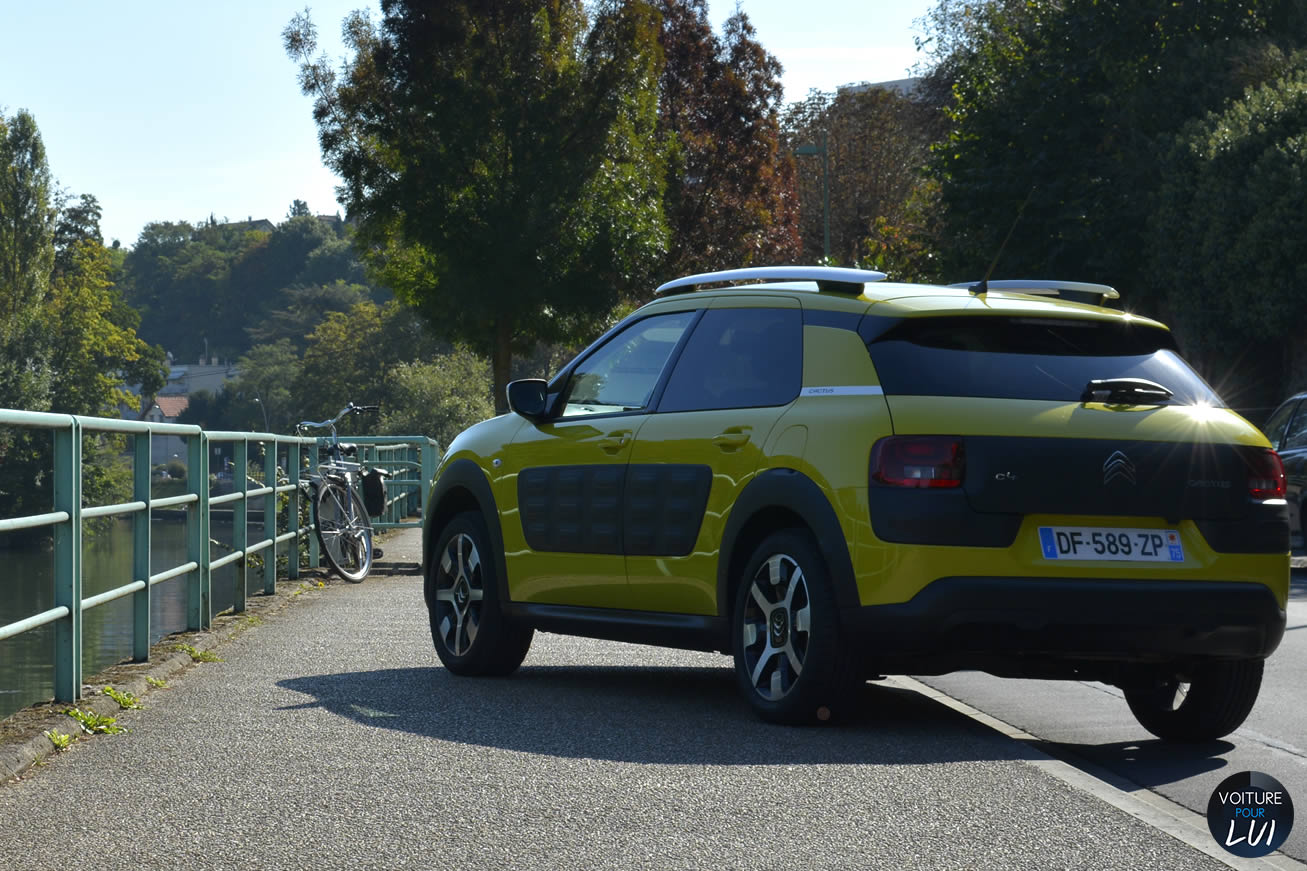 citroen c4 cactus 2015 puretech photo. Black Bedroom Furniture Sets. Home Design Ideas