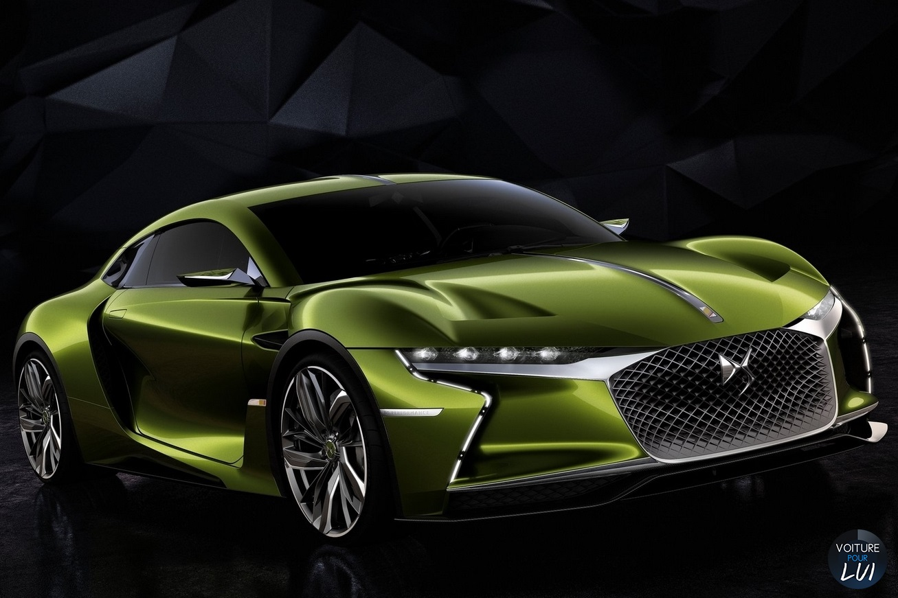 Nouvelle photo : CitroenDS-E-Tense-Concept-2016