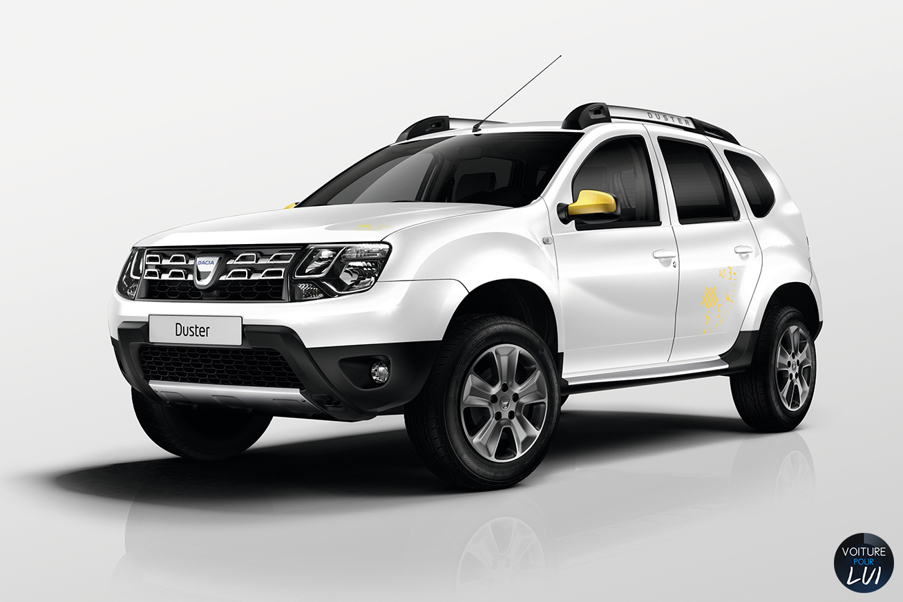 Cliché Dacia Duster Air Blanc