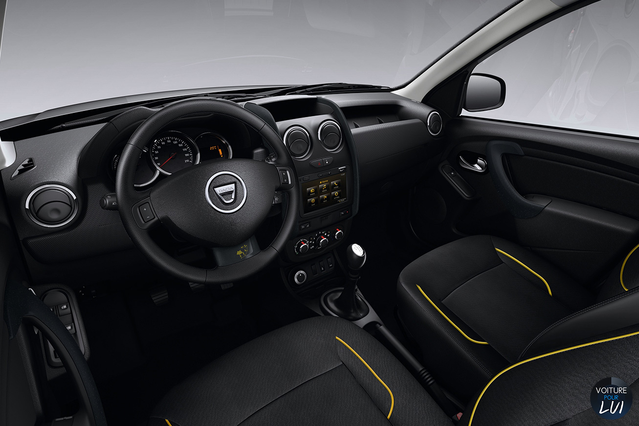 dacia duster air suv photo. Black Bedroom Furniture Sets. Home Design Ideas
