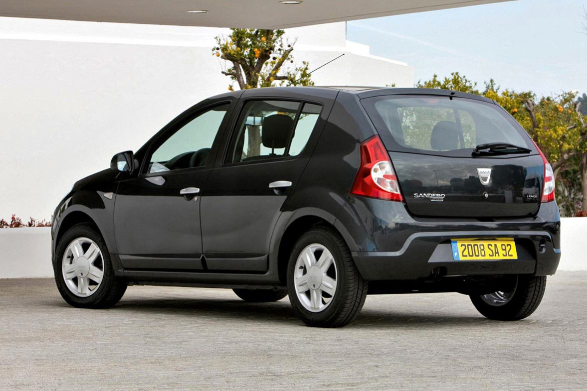 dacia sandero 2009 compacte photo. Black Bedroom Furniture Sets. Home Design Ideas