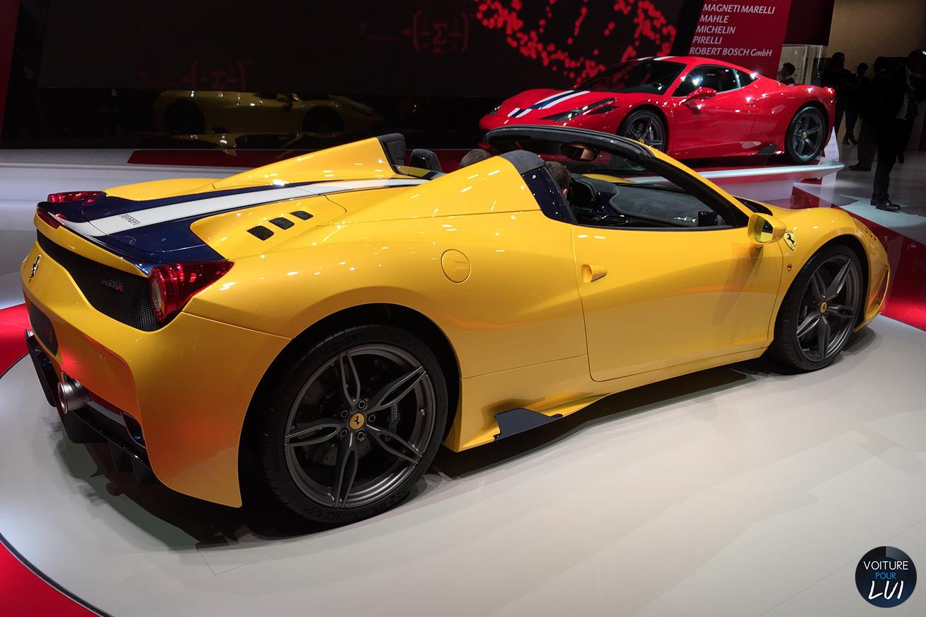 458 Speciale A Mondial Auto 2014