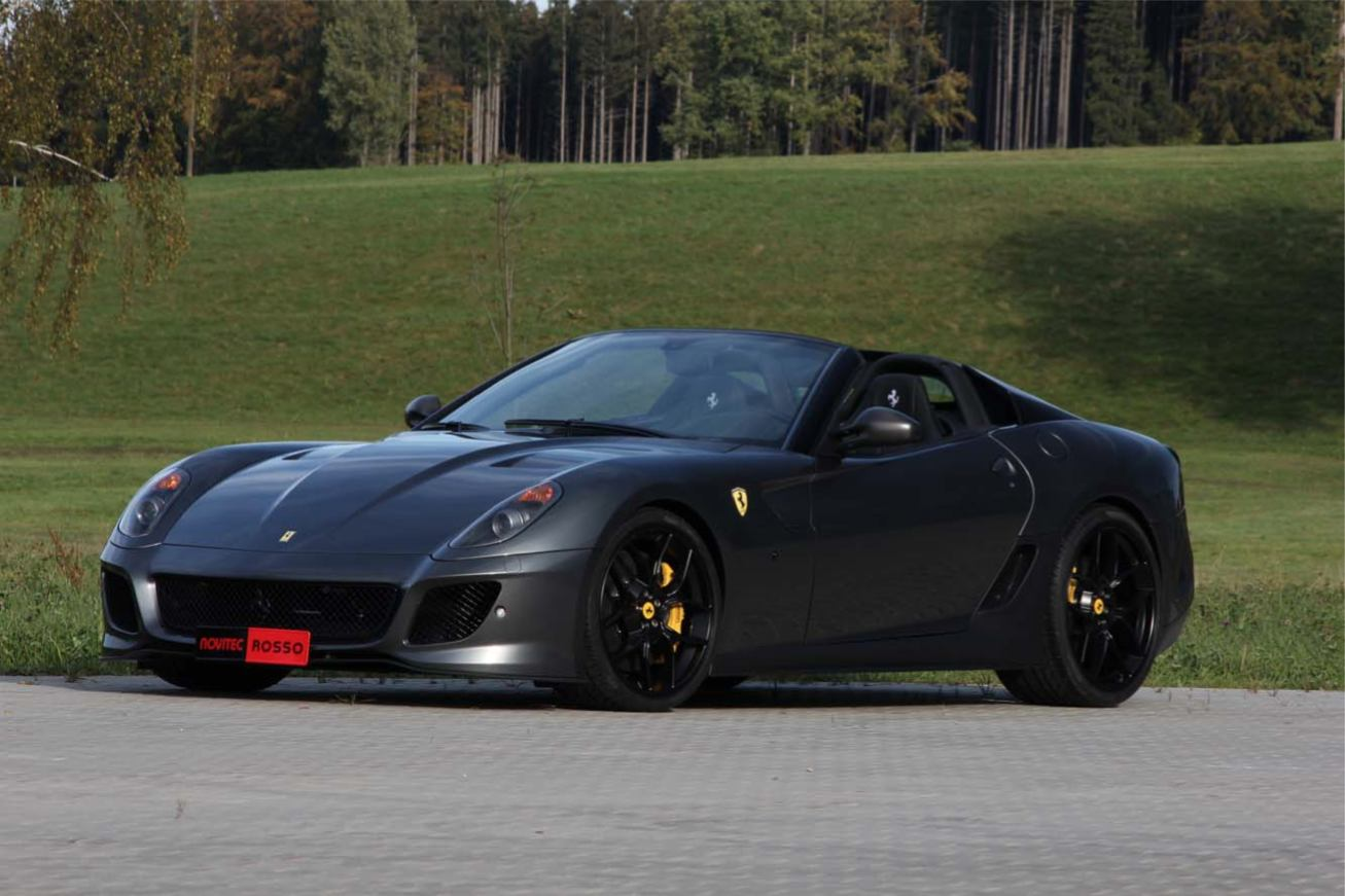 Les nouvelles photos de : 599-GTB-Novitec-Rosso