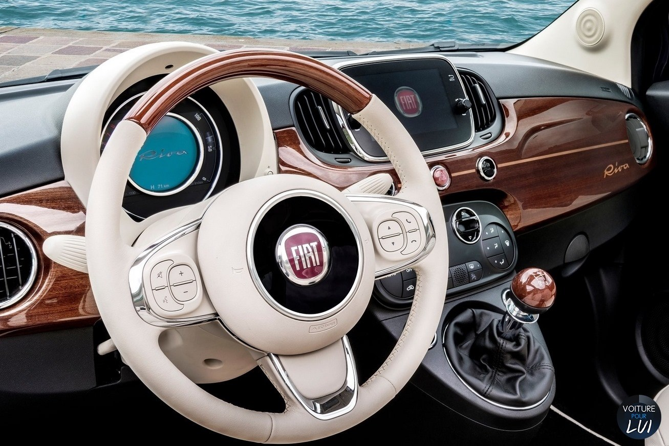 Photos fiat 500 riva 2017 2017 numero 16 for Fiat 500 interieur