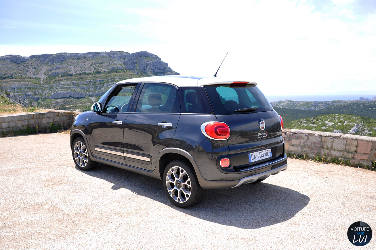 essai fiat 500l trekking. Black Bedroom Furniture Sets. Home Design Ideas