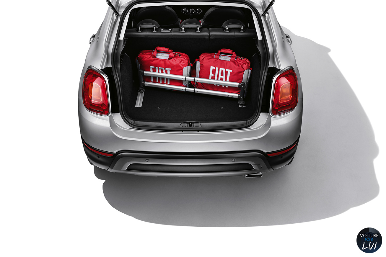 Photo fiat 500x consommation for Fiat 500 x interieur