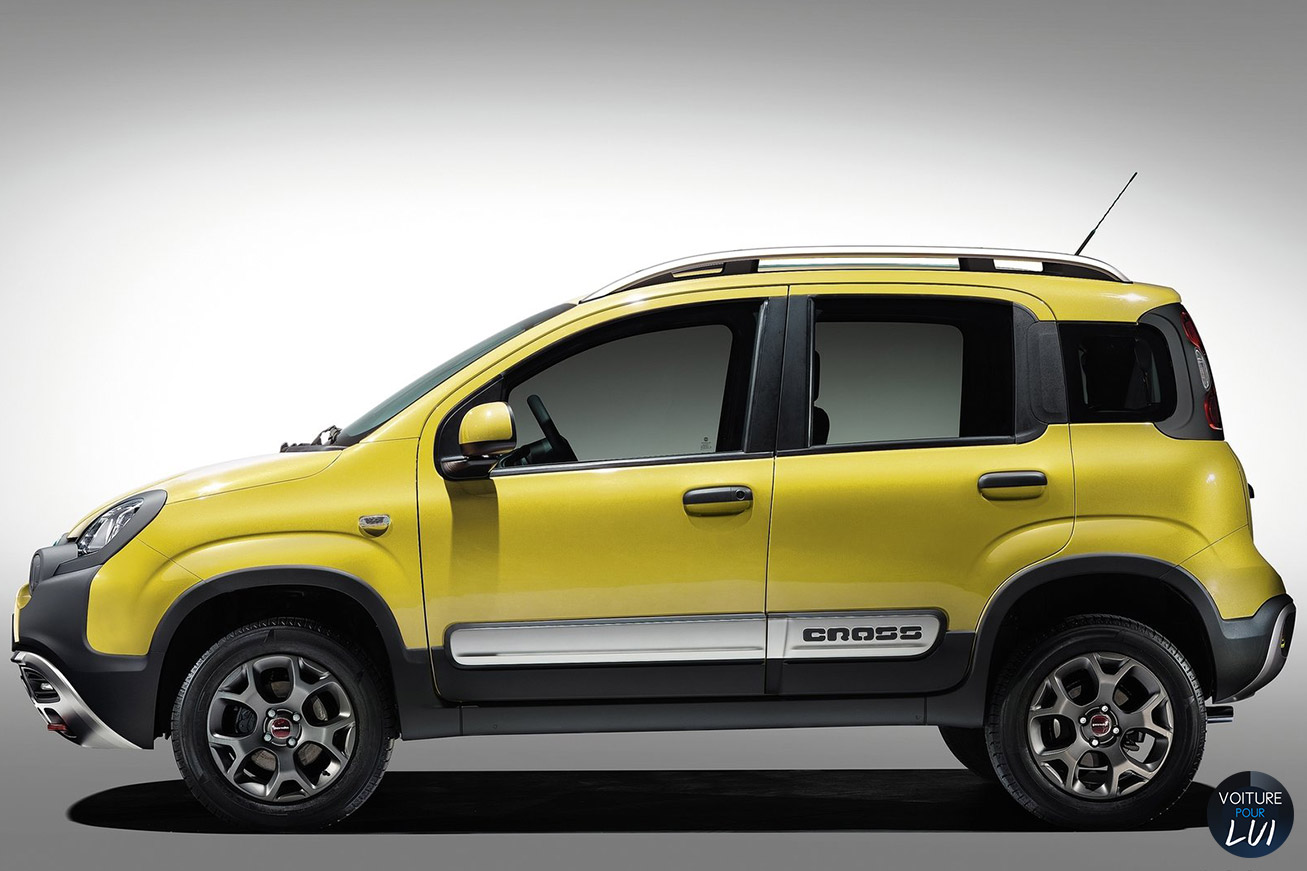 fiat panda cross jaune