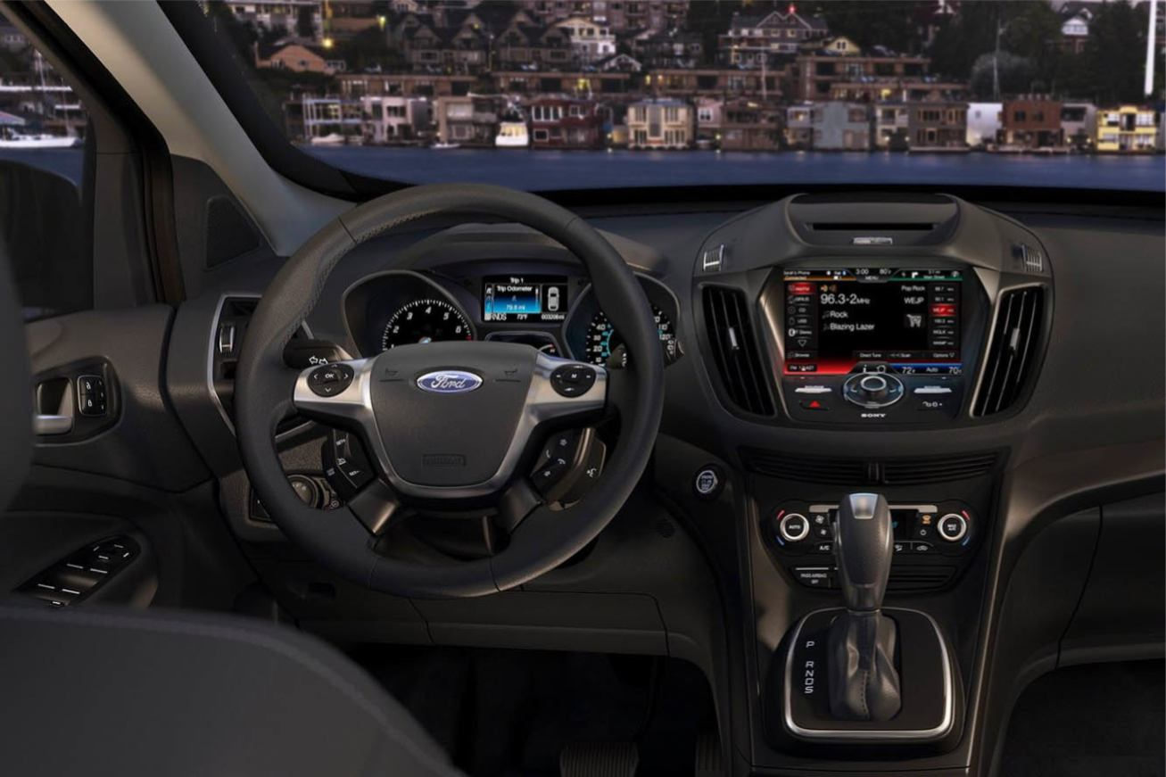 Photos ford escape numero for Interieur ford focus