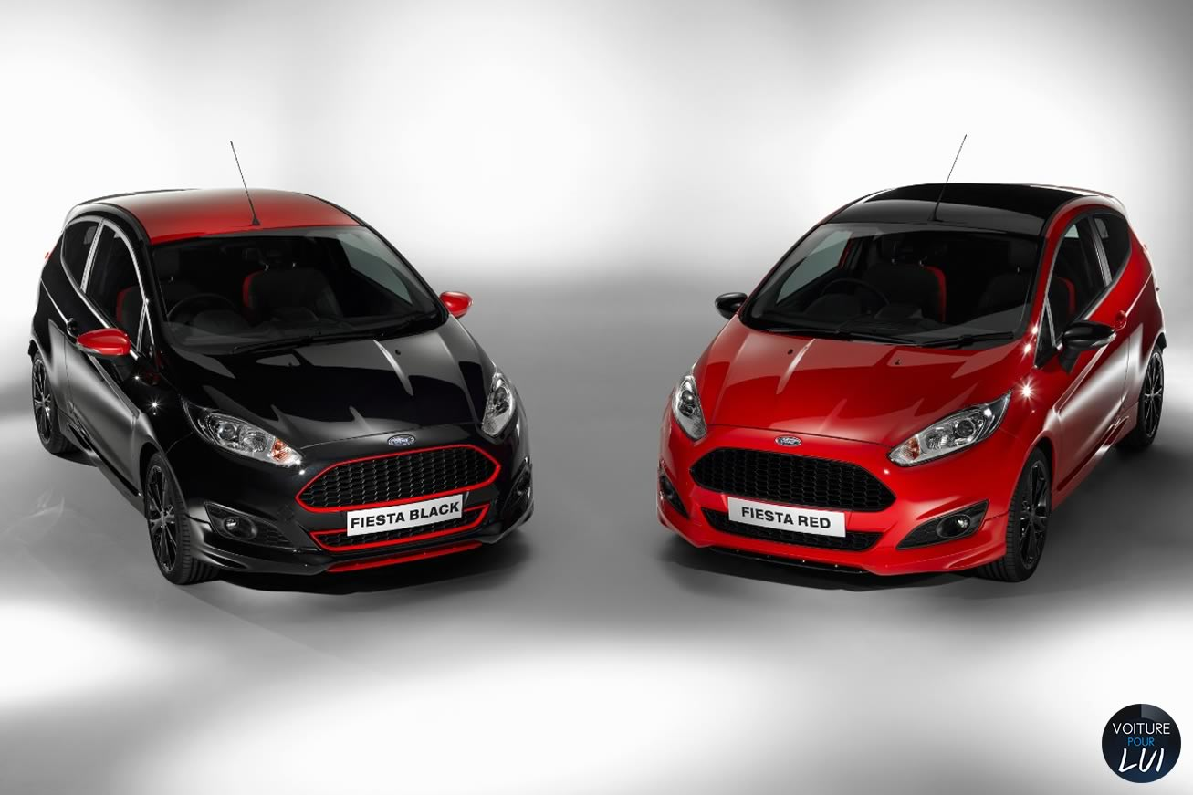 Nouvelle photo : FordFiesta-Black-Red-Edition