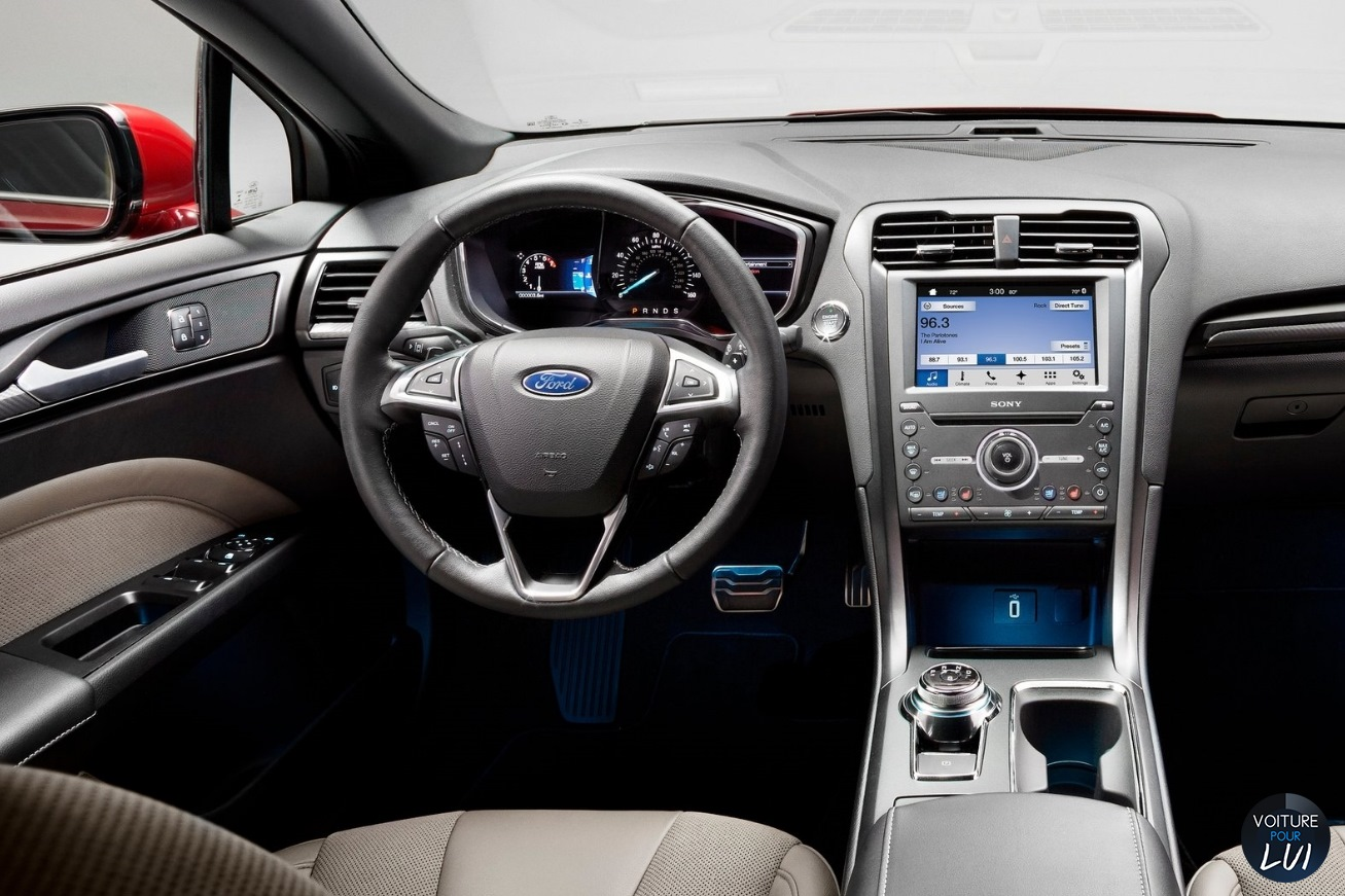 ford fusion v6 sport 2017 berline photo. Black Bedroom Furniture Sets. Home Design Ideas