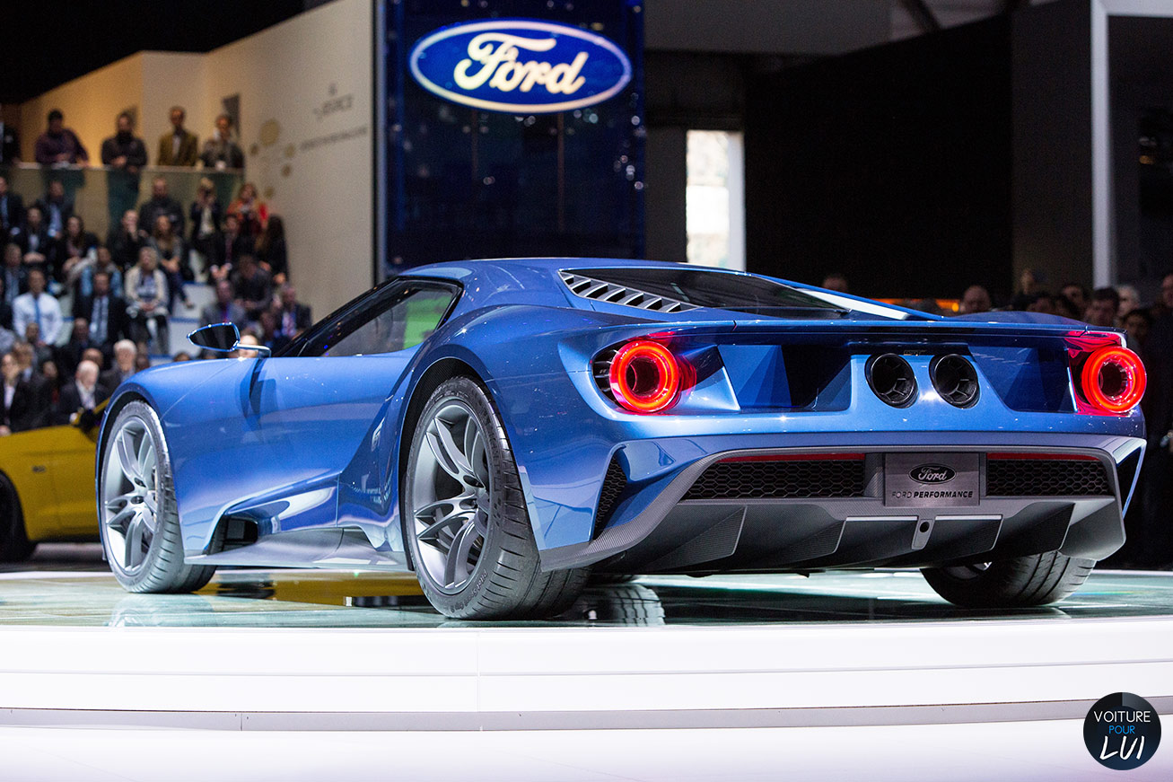 image ford gt salon geneve 2015 voiture pour lui. Black Bedroom Furniture Sets. Home Design Ideas