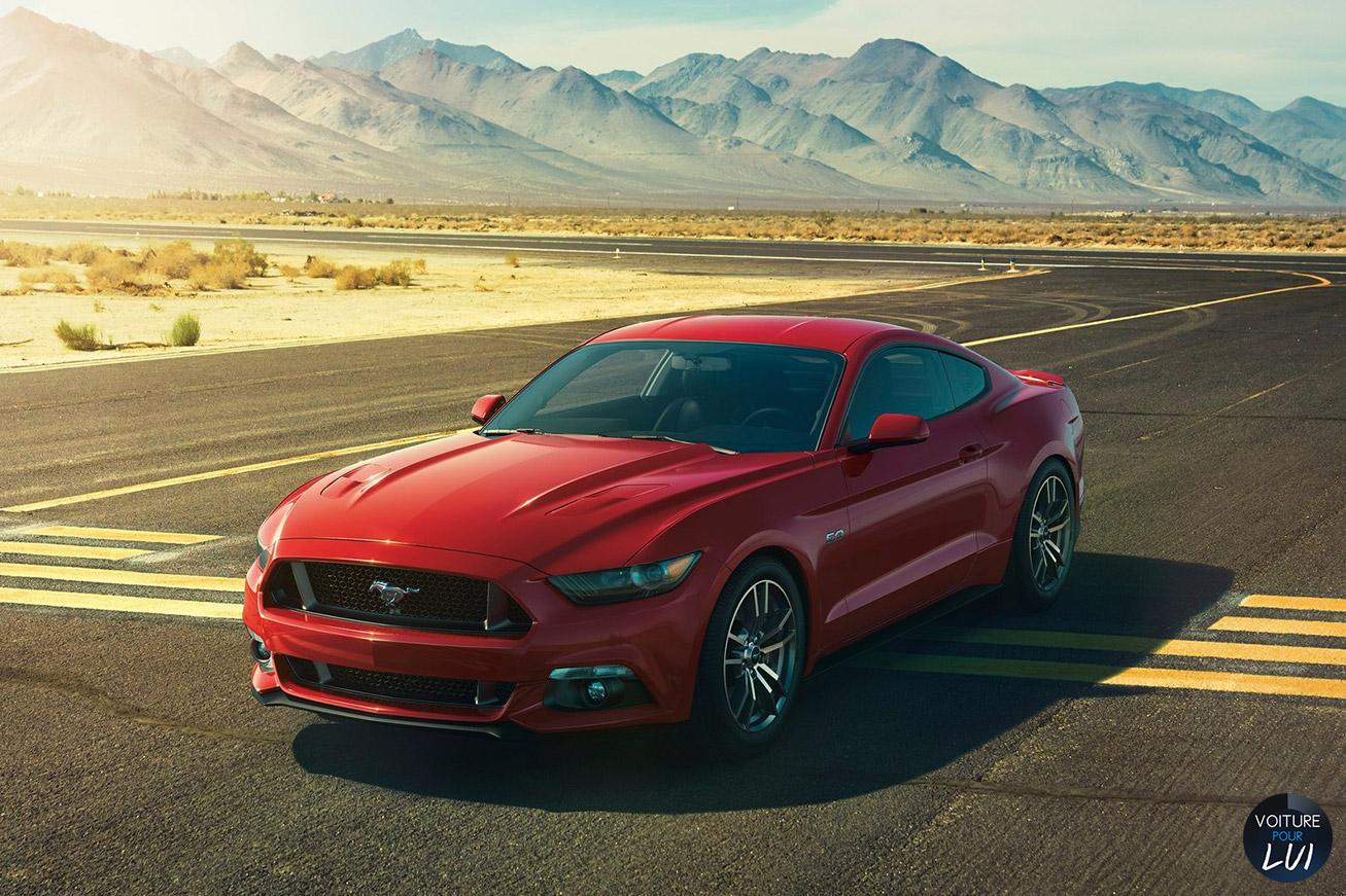Les nouvelles photos de : Mustang-GT-2015
