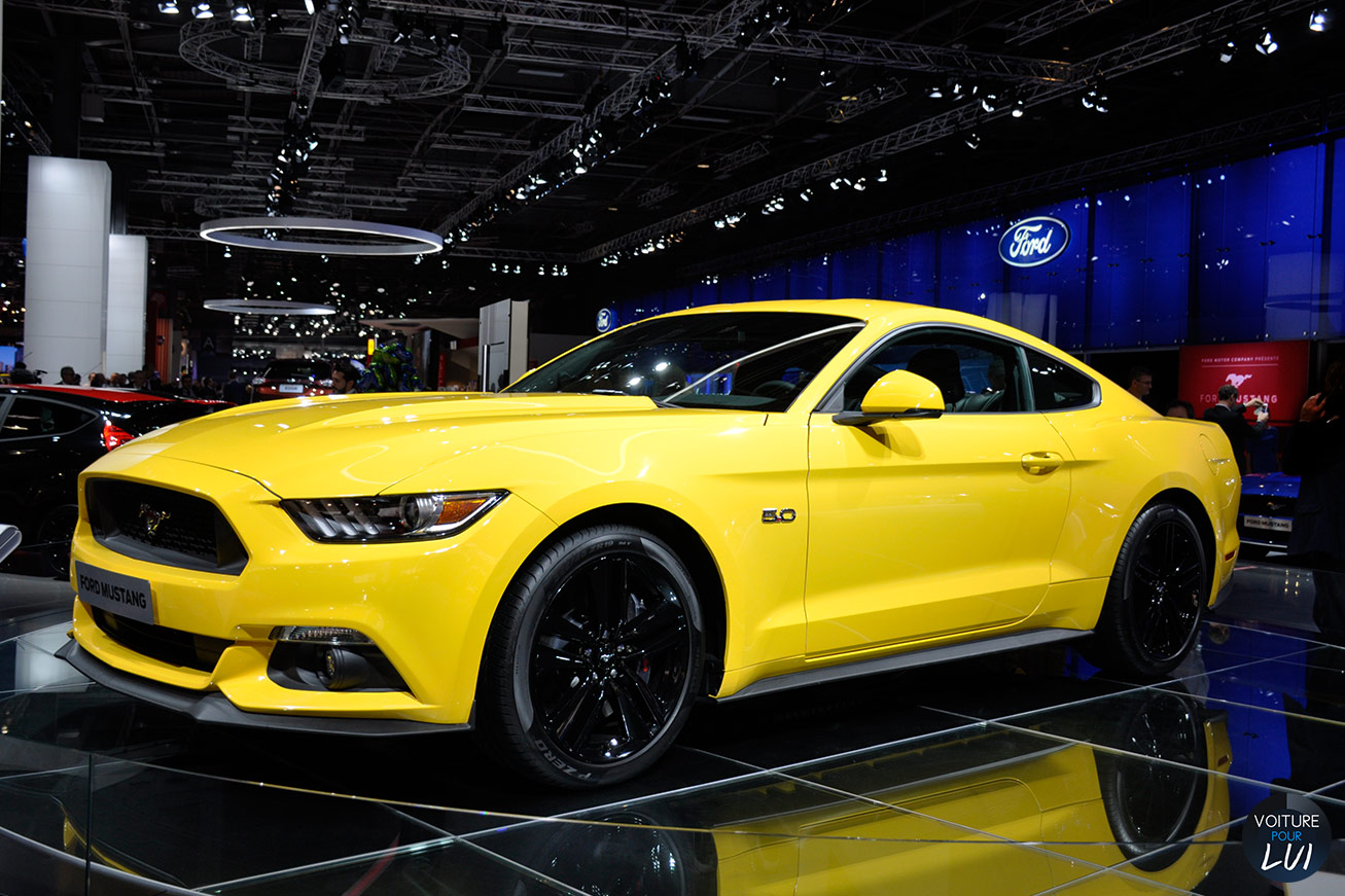 Mustang GT Mondial Auto 2014