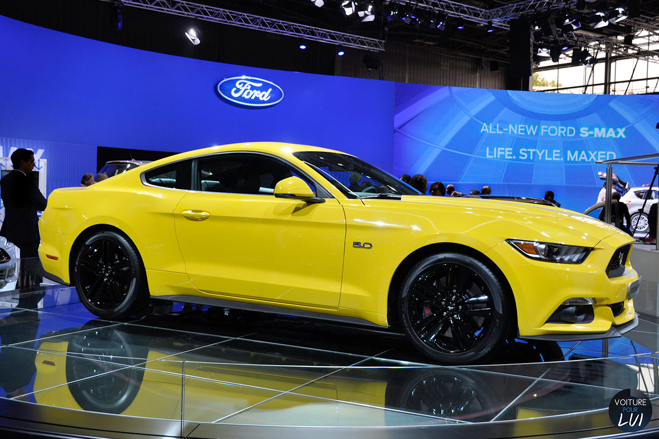 Ford  MUSTANG GT MONDIAL AUTO 2014    http://www.voiturepourlui.com/images/Ford//Exterieur/Ford_Mustang_GT_Mondial_Auto_2014_003.jpg