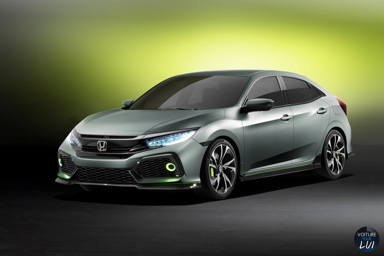 Nouvelle photo : HondaCivic-Hatchback-Concept-2016