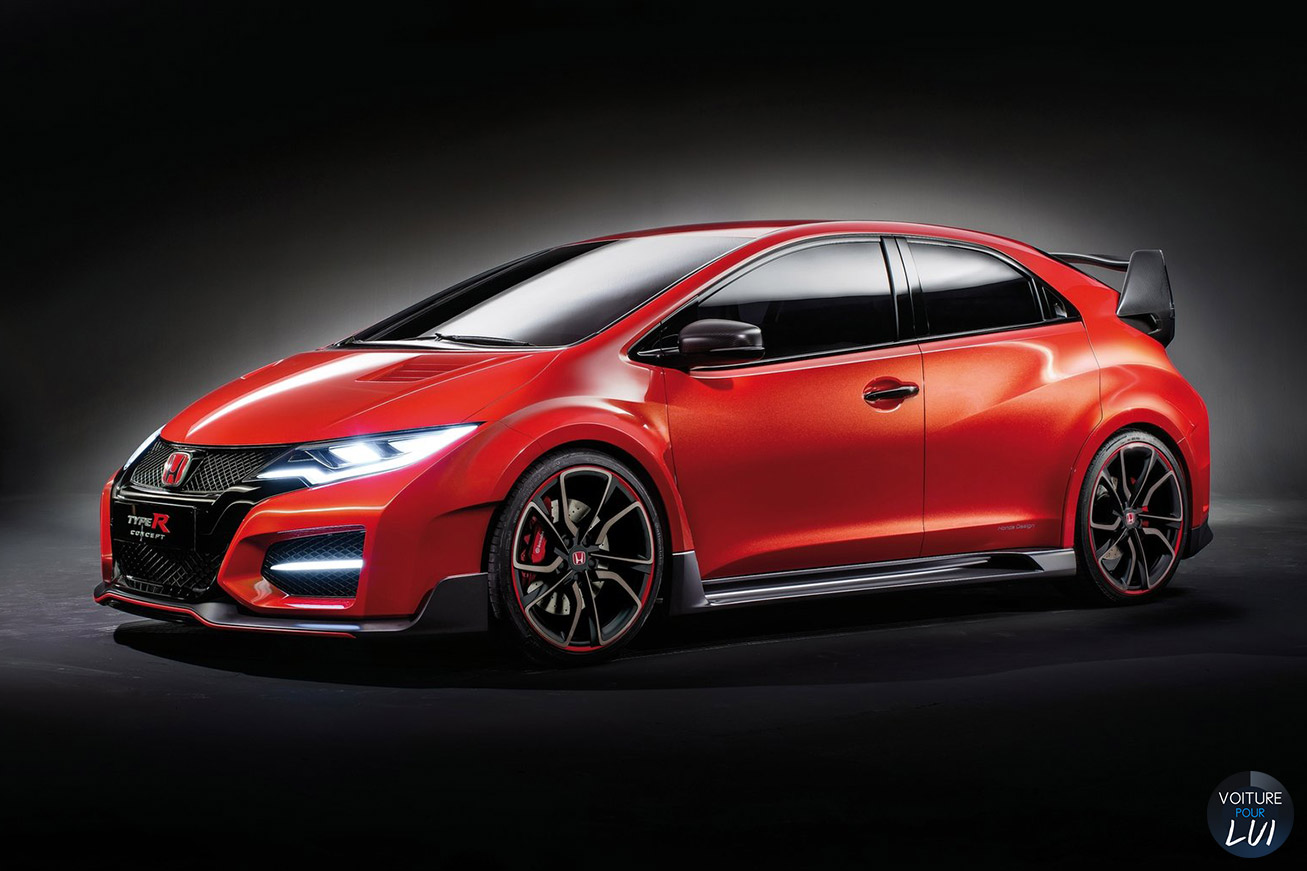 Nouvelle photo : HondaCivic-Type-R-Concept