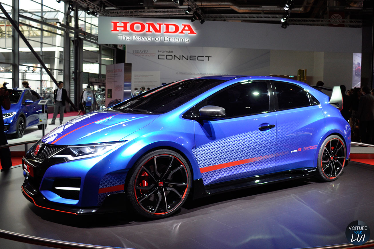 Nouvelle photo : HondaCivic-Type-R-Mondial-Auto-2014