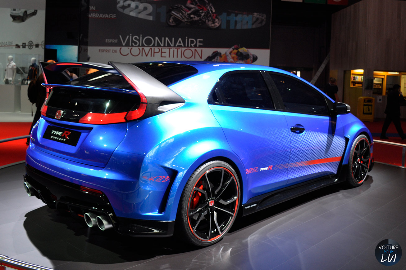 Civic Type R Mondial Auto 2014