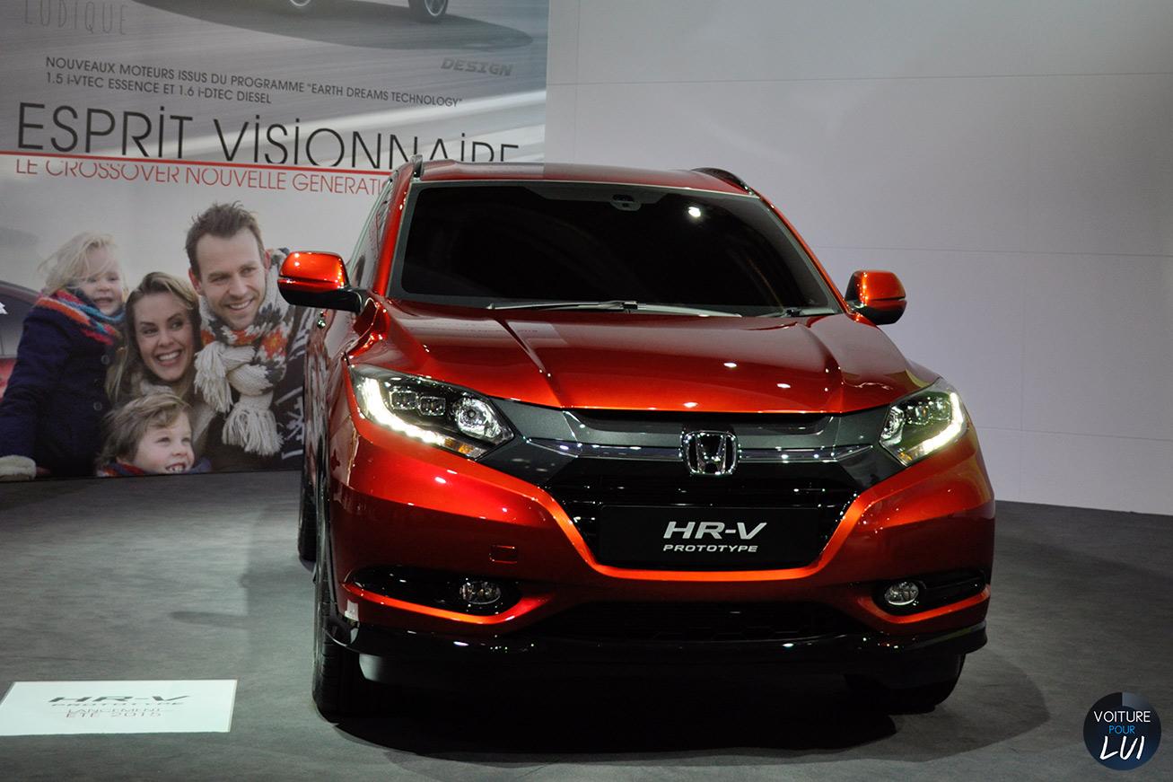 Honda  HR V MONDIAL AUTO 2014    http://www.voiturepourlui.com/images/Honda//Exterieur/Honda_HR_V_Mondial_Auto_2014_003.jpg