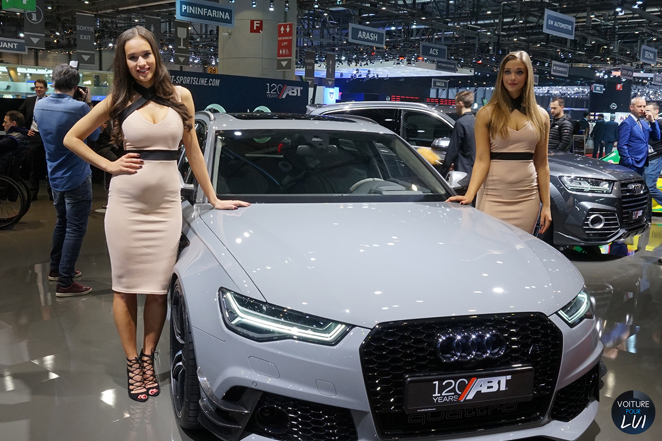 hotesse fille salon auto geneve 2016 preparateur
