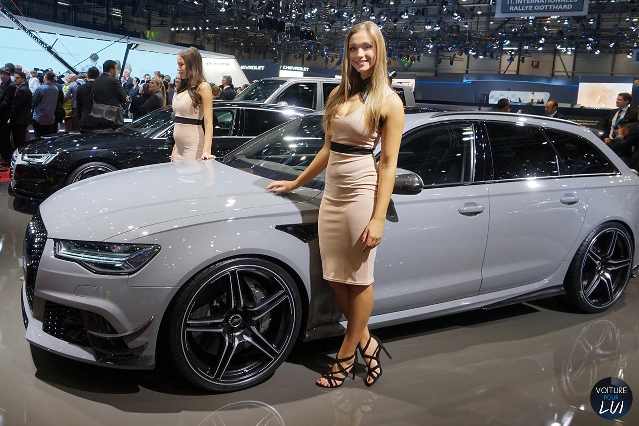 Hotesse Fille Salon Auto Geneve 2016