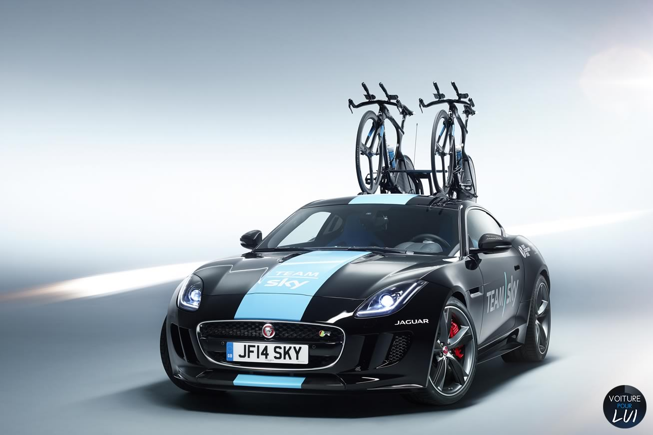 Nouvelle photo : JaguarF-Type-Team-Sky