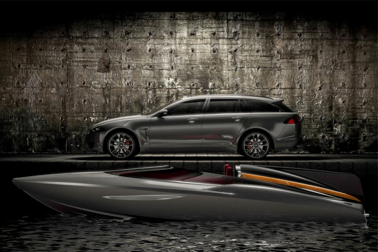 Jaguar XF Speedboat Concept