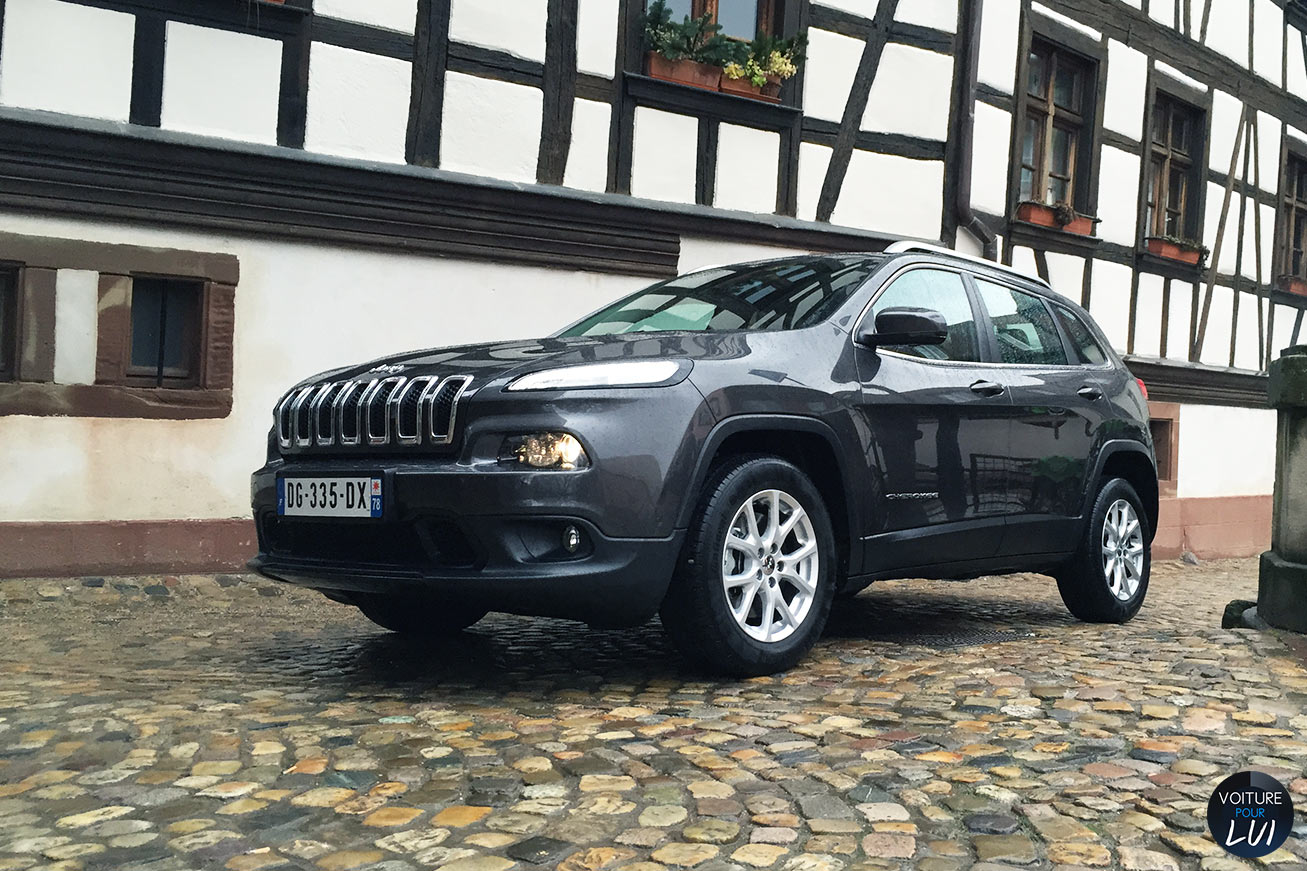 Jeep Cherokee-Longitude-Business