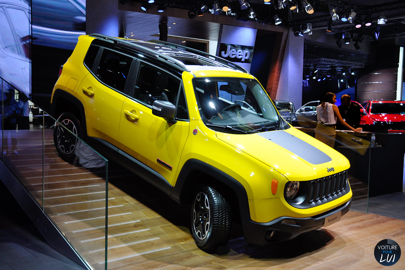 toutes les photos jeep renegade mondial auto 2014 sur voiture pour lui. Black Bedroom Furniture Sets. Home Design Ideas